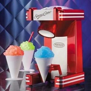 Neve Cone Ice Shaver máquina do fabricante Elétrica Bloco triturador de gelo do floco de neve Shaved Ice Machine
