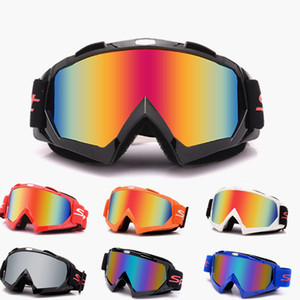MX Motorradbrille Motocrossbrille ATV Off Road Helmbrille Sonnenbrille Dirt Bike Motorradbrille Outdoor Moto Schutzbrille