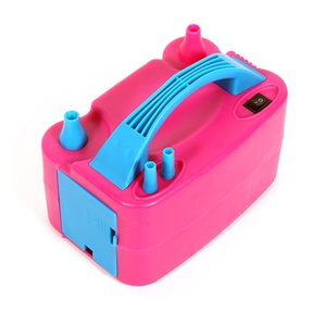 220v-440v Two Nozzle Air Blower Electric Balloon Inflator Pump Banquet High Power Air Blower Party Supplies