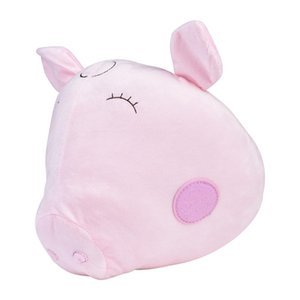 Pig Dog Rabbit Animal Head Wall-hanging Stuffed Animals Bedroom Decor Artwork Wall Hanging Photo Props For Baby Toy