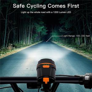 LED велосипед свет IPX6 водонепроницаемый USB аккумуляторная велосипед передний свет фонарик велосипед задний фонарь Велоспорт фары Факел лампы новый