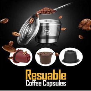 Freundlich nachfüllbar Kaffee Nespresso Umwelt Stahl Werkzeug Capsule Reusable Küche für rostfreie Maschinen Filter Capsule Rcert