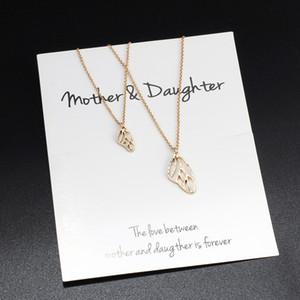 Flügel-Halsketten-Perlen pendeloque Cut Studenten Halskette Ornaments Ananas Halskette pendeloque Cut