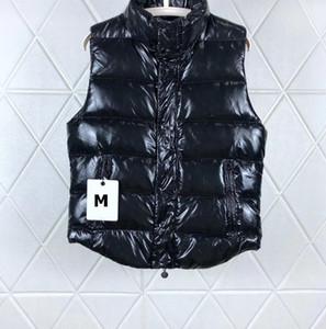 Mens Designer Giù Vest Lettera modello di lusso del cappotto incappucciato con Tag Label casual inverno caldo giacche di marca Womens Parka Asiatica Misura 3 Stile