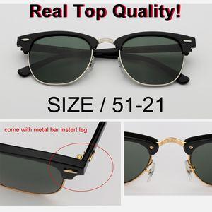 Оптовая фабрика новый классический высокое качество uv400 солнцезащитные очки Мужчины Женщины бренд дизайнер флэш-клуб солнцезащитные очки мастер gafas 51 мм размер