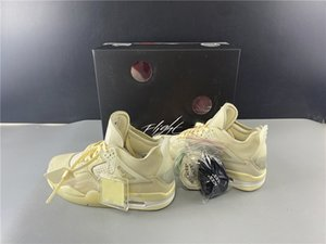 high quality White x sail 4 Sail mens basketball shoes Travis scotts purple SE Neon rasta denim game royal Jumpman mens trainers sneakers