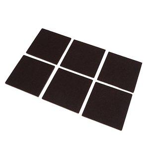 3 Sacs Brown auto feutres adhésifs meubles en stratifié dur plancher de bois Scratch Protecteur ronde Tapis Chaise / Table Jambières Post-it Retour