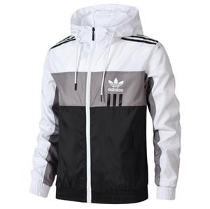 Осень мужские куртки с 3 полосами молнии мужчины ветровка пальто открытый куртка зимняя мода Марка куртка Outdoorwear одежда
