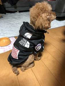 Lusso invernali piccoli vestiti del cane per i piccoli cani Grande Bulldog francese copre i vestiti per i cani Cappotto Il Dog Face Jacket