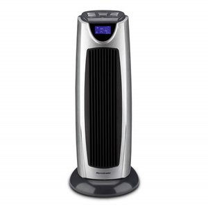 Homeleader Space Heaters Portable Ceramic Tower Fans Heater with Remote Control and LCD Display Tip Over Switch for Home Oscillating Heaters