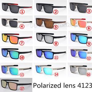 Marka polarize gözlük casual retro güneş gözlüğü HOLBROK metal PRIZM sürücü sürüş gözlük açık rahat güneş gözlüğü 4123 erkekler