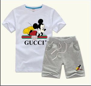 Baby boy clothes Sets Kids T-shirt Sets Baby girl clothes 1-7 years Summer Suit Baby Casual Suit 2Pcs Set