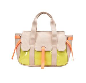 Large Capacity Fashion Versatile Shoulder Cross Body Bags Canvas Tote Bag PH-CFY20051943