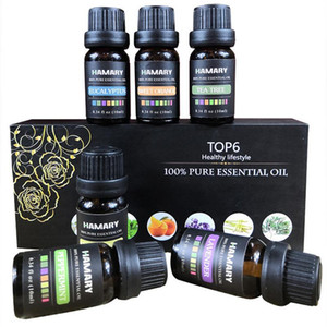 Essential Oil Set Pure Natural Plant Aroma Therapeutic Aromatherapy Diffuser Humidifier Water Soluble Massage Essential Oil