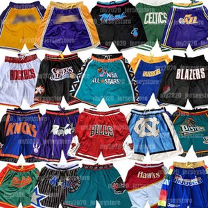 Bulls Basketball Shorts Chicago Apenas Houston Memphis Orlando Rockets Portland Trail Grizzlies Don Mágica Boston Celtics