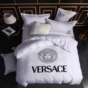 Branded Luxury Classic Grandeza Casa Bianca Duvet Cover superiore Bedding Set europea pieno / regina / re Duvet copertura di trasporto