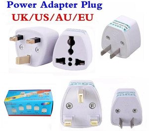 Power Adapter Universal Travel Adapter AU US EU UK plug carregador adaptador Converter 3 Pin AC de alimentação para Austrália Nova Zelândia