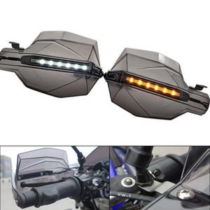 "Motociclo paramani 7/8"" manubrio con il LED motocross Handguards Per ZRX 1200 ZX11 zx 11 ZX1100 ZX7R ZX9 ZX6"