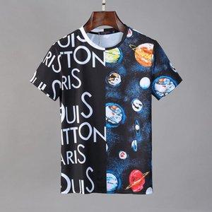 20ss men women T-shirt shorts Italy designers letter printing high quality cotton mens T-shirt 2020 clothes wm1553