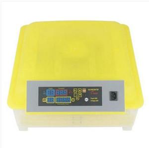 Ventes chaudes en gros Livraison gratuite 48-EGG Incubateur à volaille entièrement automatique (US Standard) Jaune Transparent