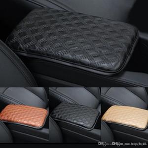 Новый автокресло подлокотники крышка кожаный коврик центральная консоль автокресло подлокотники коробка коврик авто Автомобиль защитные мягкие коврики автомобиль-стайлинг