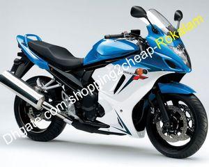 Per Suzuki GSX650F Katana GSXF 650 Blue White Motorcycles GSX 650F GSXF650 2009 2009 2010 2011 2012 2012 carent