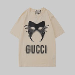 New men's designer T-Shirt New Luxury Street men's women's hip hop short sleeve high quality men's stylist T-shirt various styles s-2xl