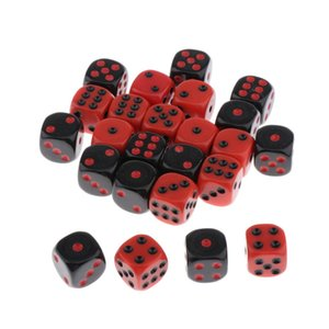 24pcs D6 Six-sided 16mm For Game