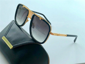 Occhiali da sole classici 83 Men Design Retro Moda stile moda Occhiali da esterno Sheet Punk Box UV 400 Lente con custodia