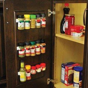 4 шт. / компл. 20 шкаф клип N магазин главная кухня организатор палка специи стеллаж для хранения захват держатель кухонные гаджеты кулинария инструменты рекомендуемые