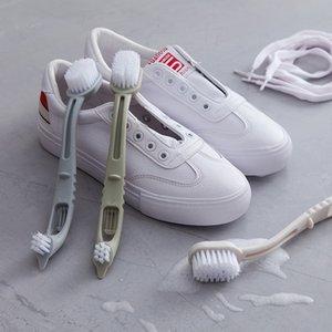 Double-end Sapato Escova De Limpeza De Limpeza Sapatos Brancos Limpador Sneaker Cleaner Kit Multifuncional Escova De Limpeza Do Banheiro Ferramenta Kichen lp0041