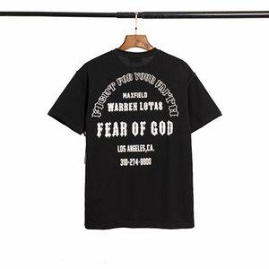 2020 Yeni Yaz Erkekler kadınlar TANRI Ortak Noel Din İsa Harf Ters Kısa Kollu T-shirt tee Tops korkusu