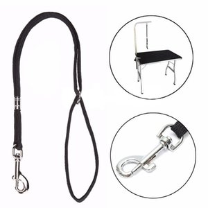 Dog Pet Cat Animal Noose Loop Lock Clip Rope For Grooming Table Arm Bath 52cm Dog Collars & Leashes