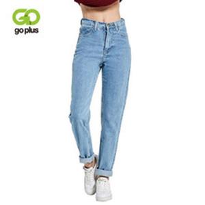 Jeans Harem Vintage vita alta Jeans Donna Fidanzati di Donne Figura intera mamma jeans denim Cowboy Pantaloni Vaqueros Mujer
