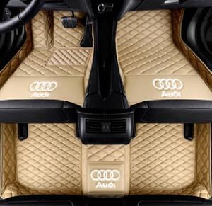 Для Audi A3 A4 A5 A6 A7 A7 A8 Q3 Q5 Q7 RS5 RS6 RS7 S3 S4 S5 S6 S7 TT Автомобильные коврики