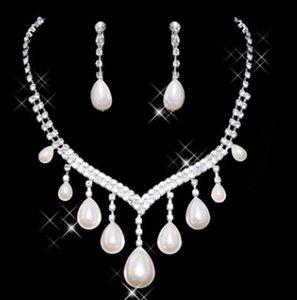daha fazla renk düğün gelin elmas kristal 925 gümüş bayan kolye küpe 15rt