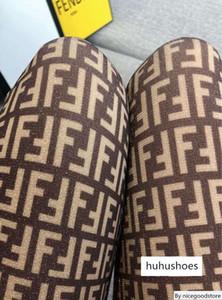 Nouveau cadeau boîte Pantynose Mode détail Emballé F lettre pleine d'été et les femmes Pantyhose de sexy automne bling Pantyhose