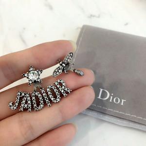 DE2 материал Париж дизайн серьги клип и агат стон в форме цветка 1.6 см для женщин серьги ювелирные изделия бренд подарок