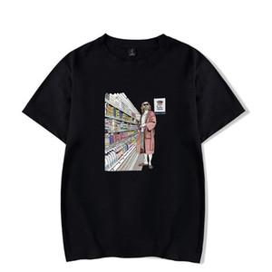 Mens Tshirt Designer Stampa Homme estate magliette americano famoso Film perpetue vestiti casuali Il grande Lebowski