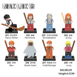 Movie Model Building Block Toys X0129 minifigs 8pcs lot Harry Pott series bricks mini figures compatible sets brand toys