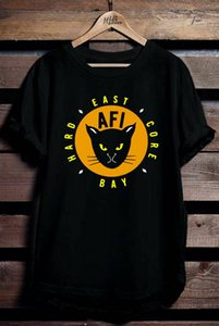 AFI East Bay Kitty logo T-Shirt Tee tutte le dimensioni