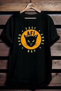 T-shirt do logotipo AFI East Bay Kitty tee todos os tamanhos