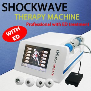 Newest EMS Electric Muscle Stimulation Machine Shock Wave Therapy Physiotherapy ED Shockwave Physical Therapy Equipment for Home Salon Use