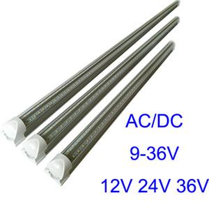 4ft 3ft 2ft 1FT DC24V Ha Condotto Il tubo T8 18 W integrazione di tensione inferiore DC12V HA CONDOTTO I tubi di luce 36 V di raffreddamento ha condotto le luci fluorescenti lampadine