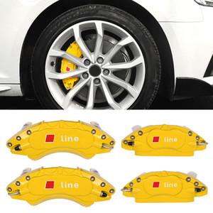 Audi A4, A5 B9 2017-2020 için Otomatik Araç Kaliper Kapağı Disk Ön ve Arka Tekerlek Takımı Çerçeve Guard Koruyucu Dış Parçaları
