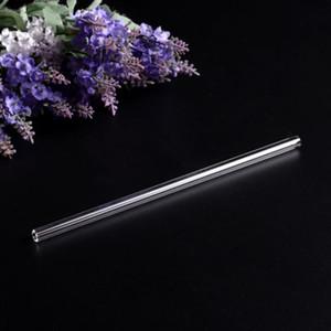 Tubo de vidro reutilizável Palhinha otário com limpeza BrushEvents Party Favors Supplies