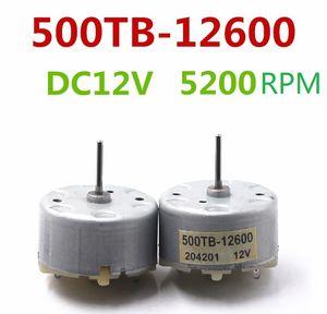 8PCS 직류 모터 RF-500TB-12600 3-12VDC 2800-5600RPM 긴 샤프트와 알람에 사용