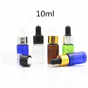 10ml 15ml 20ml leeren Flasche PET Dropper Glas Dropper Spender Behälter leeren für ätherische Öle Parfüm