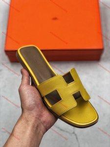 Hermes sandals xshfbcl 2020 luxe Livraison française nouvelle pantoufles d'été de la mode Lian cuir femmes chaussures épais et confortables sandales à talons 36-40