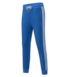 Sport Hommes Designer Joggers 6 couleurs Mode Marque Sweatpants Stripes Panalled Crayon Jogger Pantalon Livraison gratuite Plus Size S - 4XL